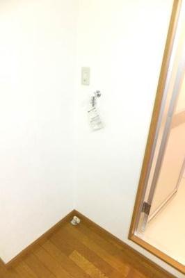 もちろん室内洗濯機置き場☆