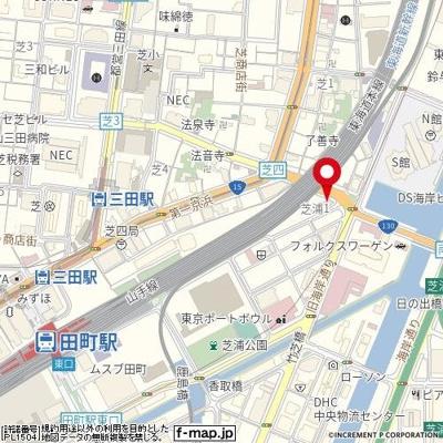 【地図】パレステュディオ芝浦(Tokyo Bay)