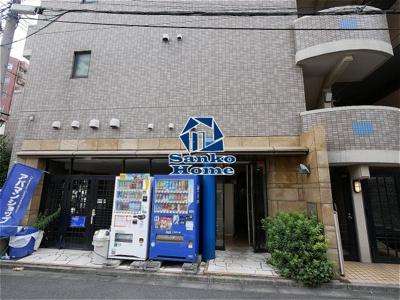 【エントランス】メゾン・ド・ヴィレ本駒込