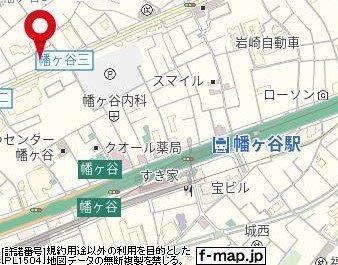 【地図】日神デュオステージ幡ケ谷