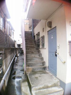階段と通路