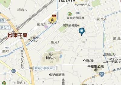【地図】渡辺祐光駐車場