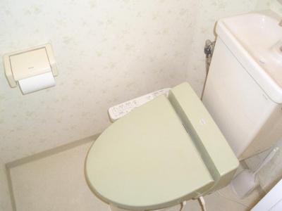 【トイレ】ハイムフジクラ