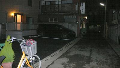 【外観】古市駐車場