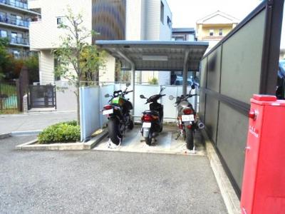 バイク置き場★