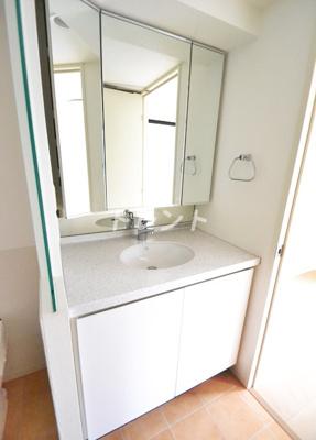 【洗面所】ラコント新宿セントラルパークアパートメント