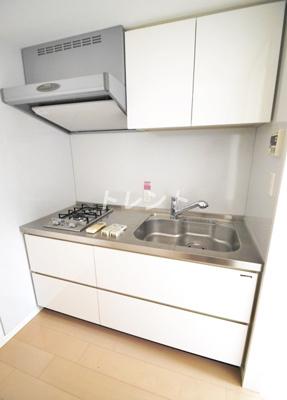 【キッチン】ラコント新宿セントラルパークアパートメント