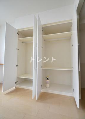 【収納】ラコント新宿セントラルパークアパートメント