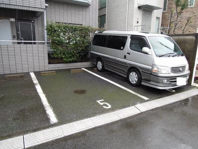 ハイグレース用賀駐車場