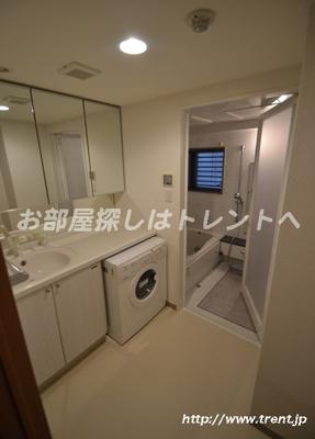 【洗面所】ドメイン東新宿