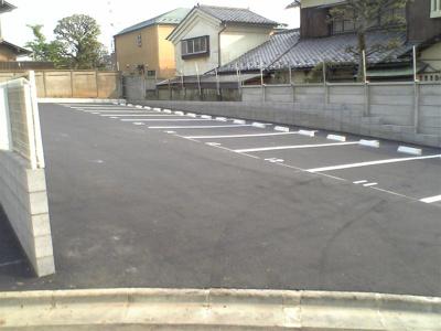 【外観】ときわカーポート駐車場