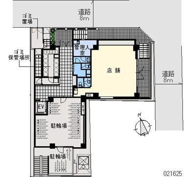 【区画図】Flat浜松町