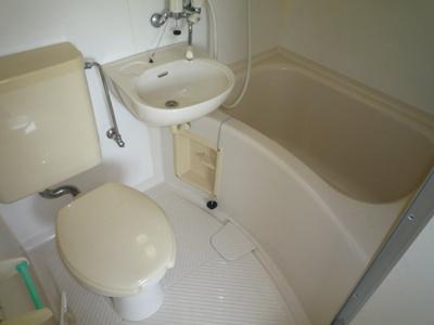 【浴室】マンション平野