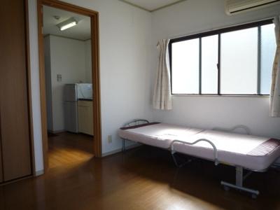 【寝室】マンション平野