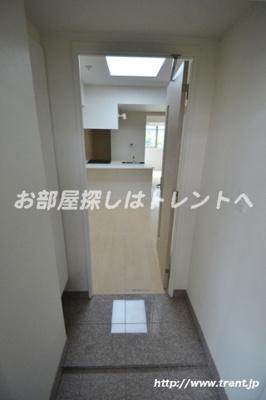 【玄関】ラグジュアリーレジデンス新宿ソラーレ