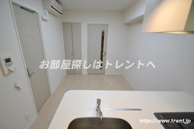 【キッチン】ラグジュアリーレジデンス新宿ソラーレ