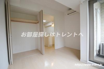 【寝室】ラグジュアリーレジデンス新宿ソラーレ