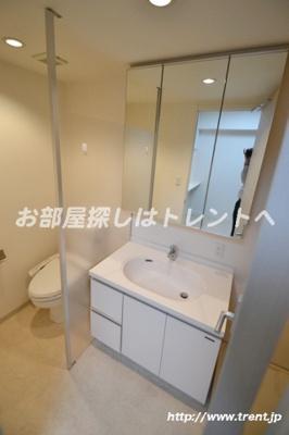 【トイレ】ラグジュアリーレジデンス新宿ソラーレ