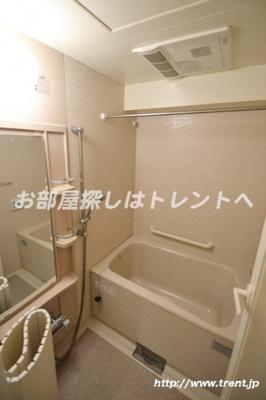 【浴室】ラグジュアリーレジデンス新宿ソラーレ