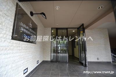 【エントランス】ラグジュアリーレジデンス新宿ソラーレ