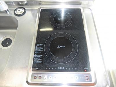 【キッチン】レオパレスkubo flat