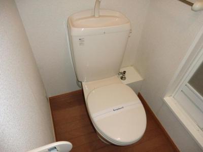【トイレ】レオパレスエルザ1