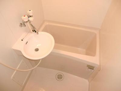 【浴室】レオパレスサンブライト