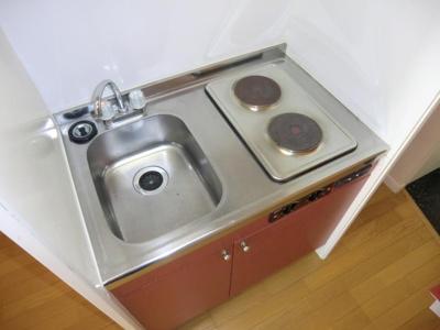 【キッチン】レオパレスIT'S