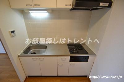 【キッチン】リリエンベルグ弐番館