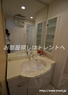 【洗面所】シュロス初台