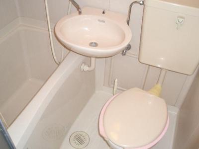 【浴室】サンライフ内代