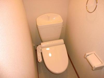 【トイレ】レオパレスリバーウエスト B