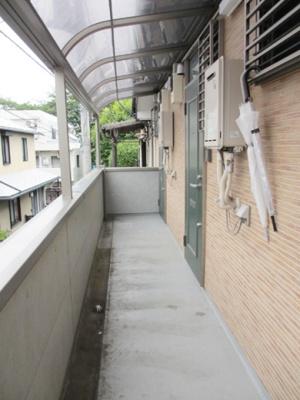 【外観】ファミール桜上水   京王線桜上水駅7分!バストイレ別のワンルームです!安心のモニター付インターフォン付いてます◎