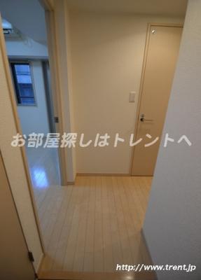 【玄関】プレールドゥーク北新宿
