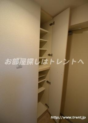 【収納】プレールドゥーク北新宿