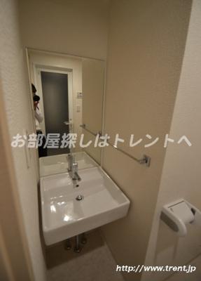【洗面所】プレールドゥーク北新宿
