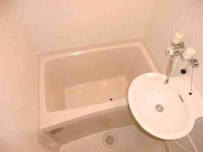 【浴室】レオパレスブリリアントエトワール