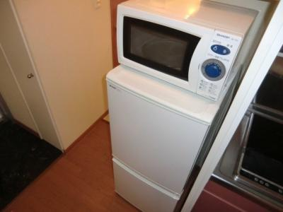 冷蔵庫&電子レンジ
