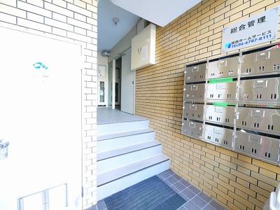 【エントランス】カルム学園前