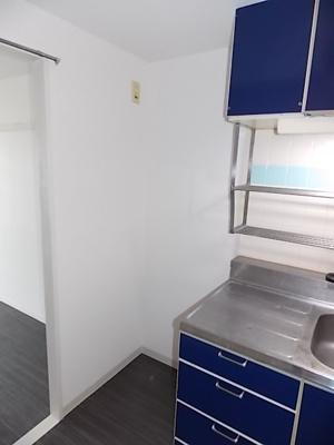 冷蔵庫置場