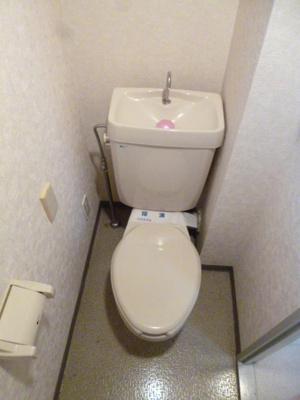 【トイレ】ロイヤルマンション市川