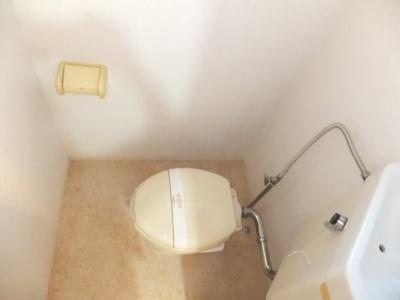 【トイレ】ヴィラ中山B棟
