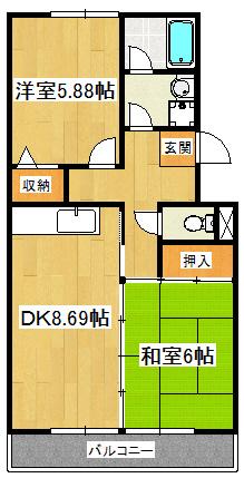 パティオ東菅野コミュニティ2番館