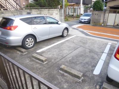 【駐車場】ヴィラ中山C棟