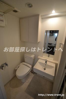 【トイレ】プレールドゥーク新大久保