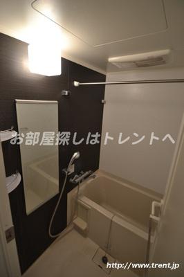 【浴室】プレールドゥーク新大久保