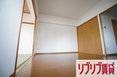 【居間・リビング】オリオンハイツ