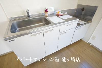 【キッチン】クレスト藤ヶ丘B