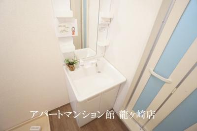 【洗面所】クレスト藤ヶ丘B