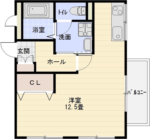 アニスベール玉手山 河内国分駅 1R 大阪教育大前駅